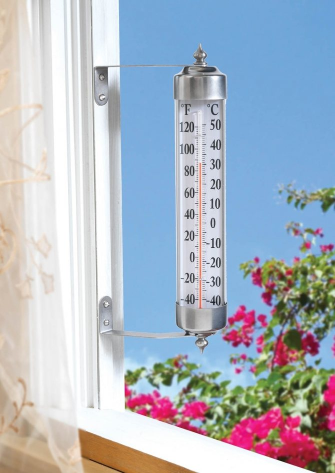 5 самых лучших термометров оконных уличных