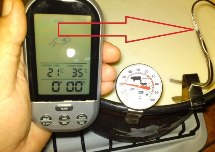 Рейтинг 5 лучших термометров со щупом