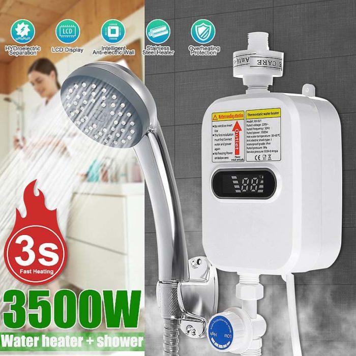 Рейтинг недорогих водонагревателей для душа на Алиэкспресс